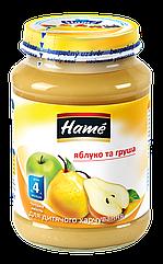 Пюре фруктовое яблоко и груша Hame, 190 г