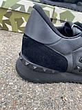Кроссовки Valentino Rockstud Low Black, фото 6
