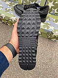 Кроссовки Valentino Rockstud Low Black, фото 10