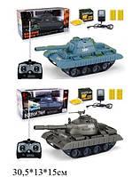 "RUS Р.У.Танк PLAY SMART  ""Боевой танк"" аккум.стреляет пульками 4в.кор.30,5*13*15 ш.к./24/"