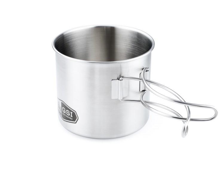 Кружка GSI GLACIER STAINLESS Bottle Cup/Pot