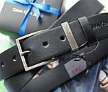 Мужской ремень  Calvin Klein в коробке black, фото 2