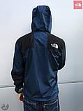 Ветровка The North Face 1985 Seasonal Mountain Jacket (Черно-синяя), фото 3