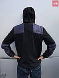 Ветровка The North Face 1985 Seasonal Mountain Jacket (Черно-серая), фото 3