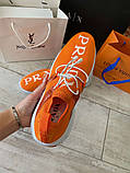 Prada Knit Fabric Sneakers Orange, фото 4