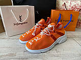 Prada Knit Fabric Sneakers Orange, фото 5