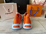 Prada Knit Fabric Sneakers Orange, фото 6