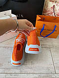 Prada Knit Fabric Sneakers Orange, фото 7