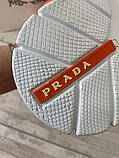 Prada Knit Fabric Sneakers Orange, фото 9