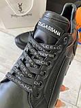 Сникеры Dolce Gabbana Super King Black, фото 5