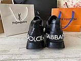 Сникеры Dolce Gabbana Super King Black, фото 9