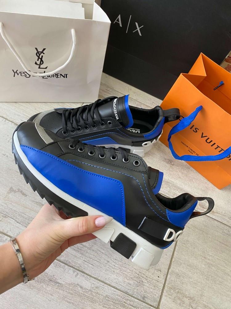 Сникеры Dolce Gabbana Super King Blue