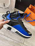 Сникеры Dolce Gabbana Super King Blue, фото 2