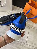 Сникеры Dolce Gabbana Super King Blue, фото 4
