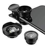 Комплект объективов для смартфона Baseus Short Videos Magic 3 шт. Черный (ACSXT-A01)