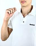 Футболка Polo Reebok Белый, фото 2