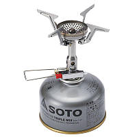 Горелка газовая SOTO AMICUS w/Steath igniter, фото 1