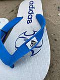 Шлепки Adidas Basic White, фото 3