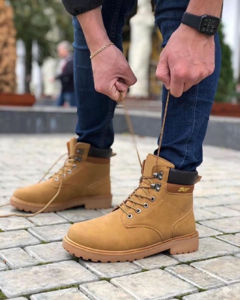 Мужские Ботинки Тимберленд Спорт Зима