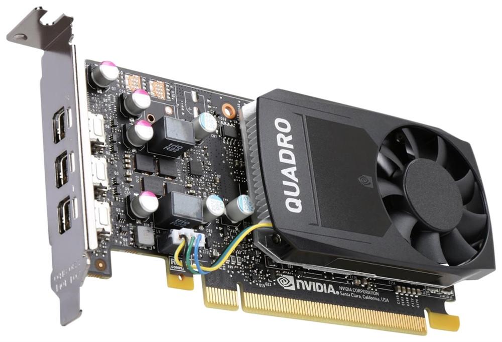 NVIDIA Quadro P400, 2GB, 3 mDP, FH