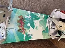 Женский сноуборд Forum 38. длина 138см крепления Drake, фото 3