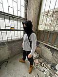Бафф с капюшоном и ремнями DNK MAFIA Черный, фото 2