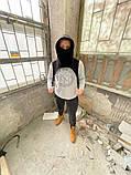 Бафф с капюшоном и ремнями DNK MAFIA Черный, фото 3