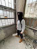 Бафф с капюшоном и ремнями DNK MAFIA Черный, фото 4