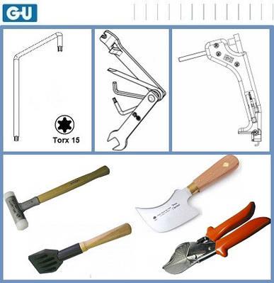 Инструменты для монтажа и регулировки окон