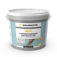 Клей для LVT, модульных и рулонных покрытий для пола и стен «GOLDBASTIK BF 61»