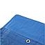Тент-брезент 5х8м 55г/кв.м полипропиленовый с люверсами, фото 3