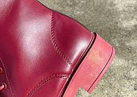 Женские зимние кожаные сапоги. Модель 34742, фото 9