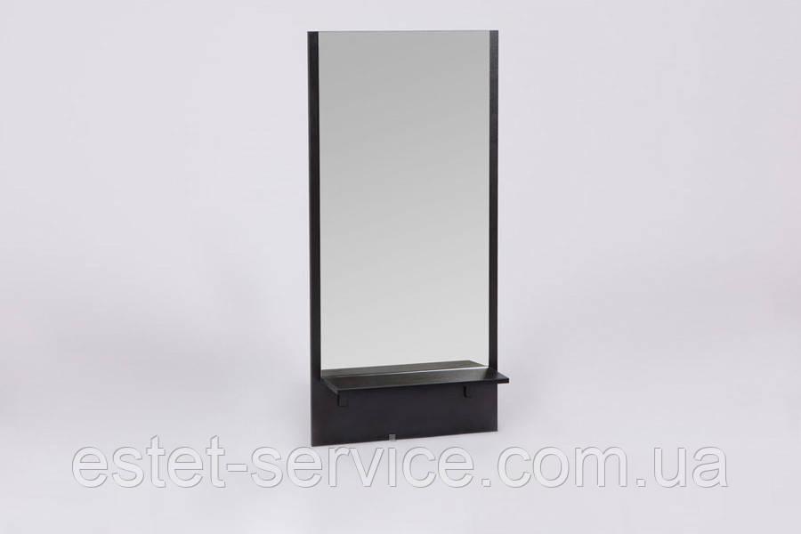 Компактное зеркало с полкой для парикмахера в салон красоты