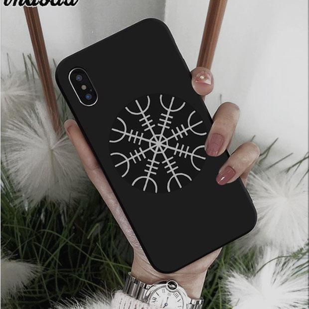 Чехол для мобильного телефона скандинавский Шлем Ужаса