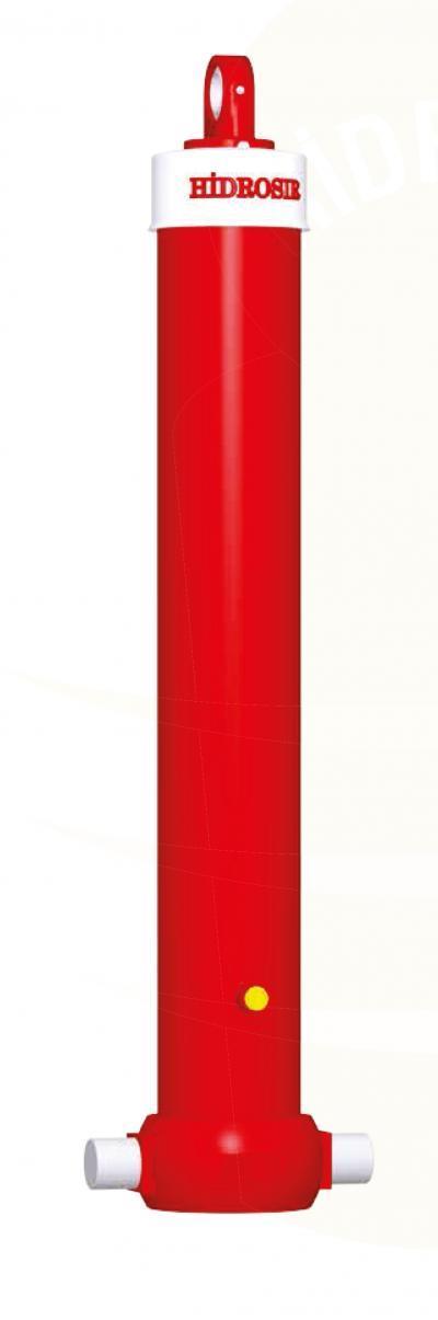 Гидроцилиндр 5-ти штоковый с монтажным комплектом