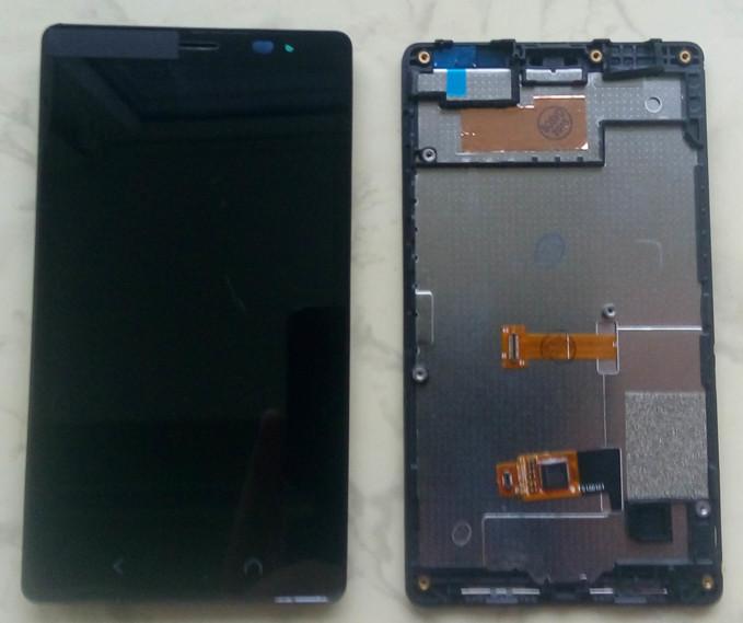 Nokia X2 Dual Sim дисплей LCD + тачскрін в зборі з рамкою
