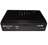Цифровой эфирный DVB-T2 приемник Alphabox T12