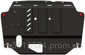 Защита двигателя Skoda Octavia III A7 2013-  V- всi   двигун, КПП, радіатор (Кольчуга)