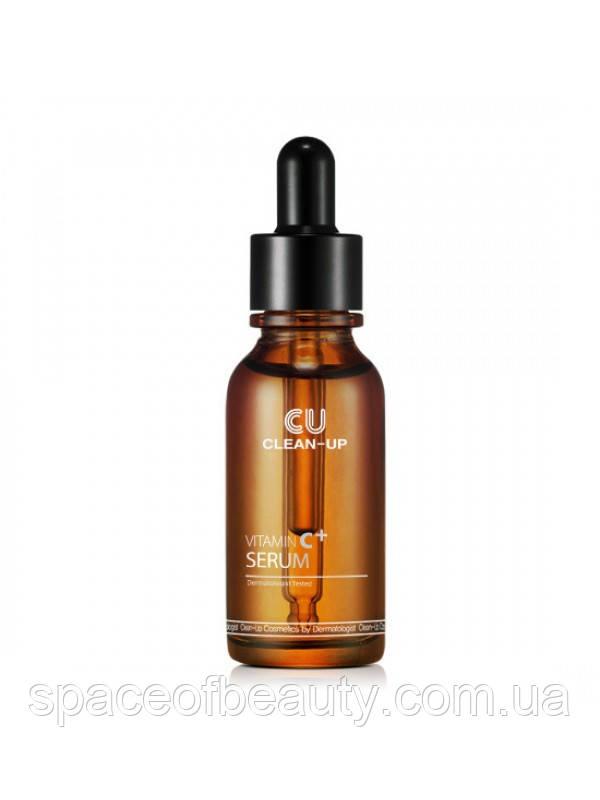 Регенеруюча Сироватка З Вітаміном С CLEAN-UP Vitamin C+ Serum - 4,5% Cuskin  (20 Мл)