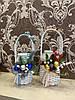 Плетёные декорованые банки на воду 1л, 1.5л, 2л