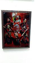 Плакетка Евроклубы FC Milan