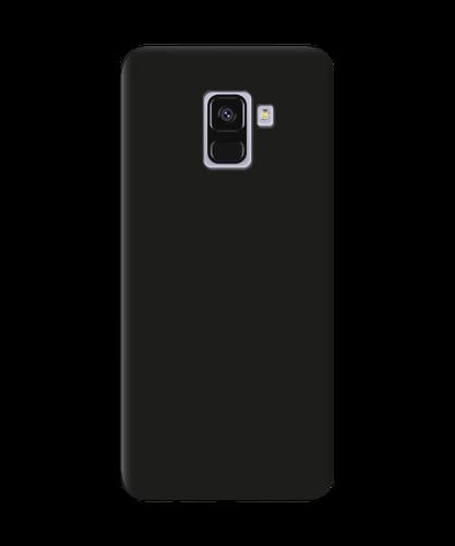 Чохол силіконовий для Samsung A730 A8+ (2018) Black Matte