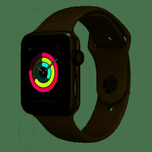MTEY2LL/A Apple Watch Series 3 38mm Silver Aluminum White Sport Band (GPS) (S) Serial No.GLCCW3EMJ5WY