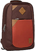 Рюкзак Bagland Baretti 14 л. коричневий/кирпич (0011866), фото 1