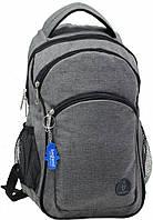 Рюкзак Bagland Лик Меланж 19 л. Темно серый (0055769), фото 1