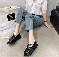 Женские кожаные лоферы. Модель 10287, фото 2
