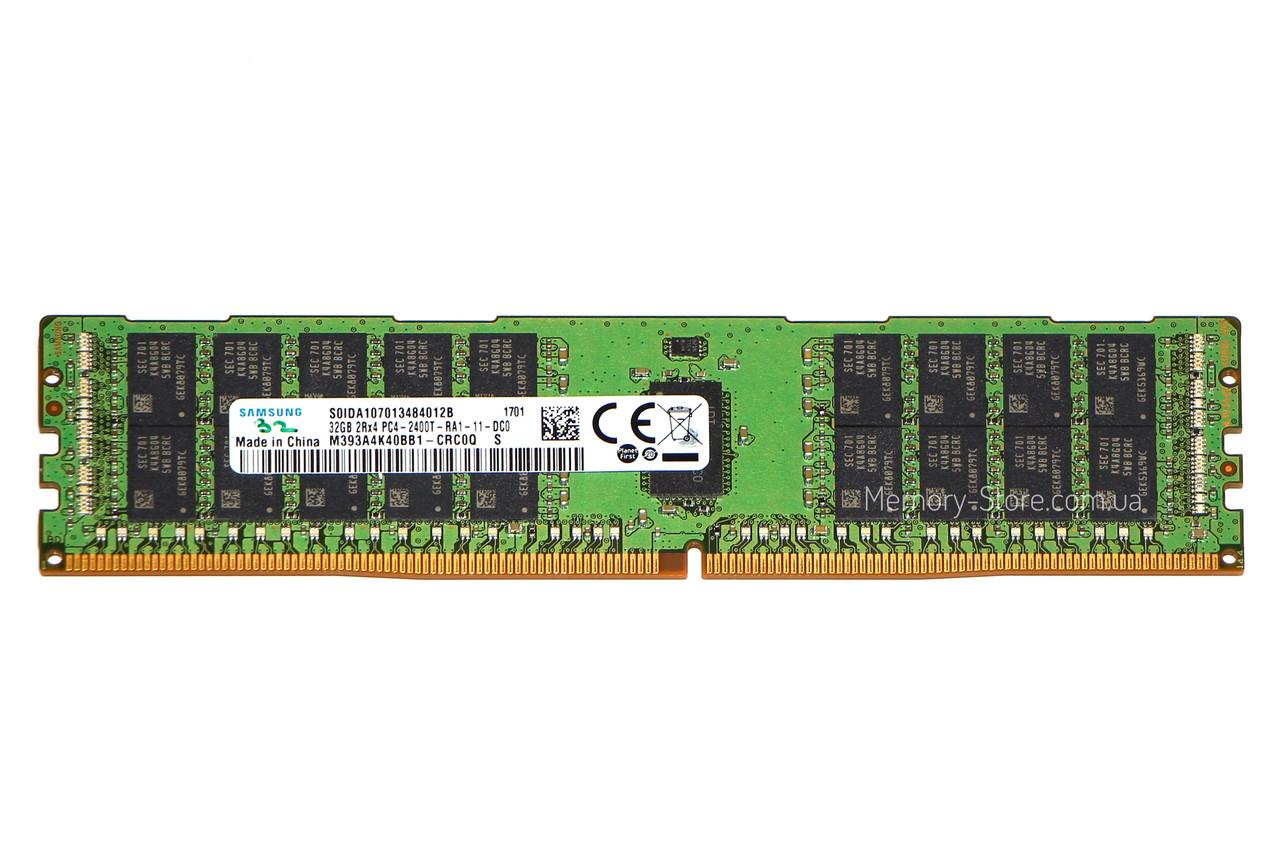 Оперативная память для сервера DDR4 32GB PC4-17000 (2133MHz) DIMM ECC Reg CL15, Samsung M393A4K40BB0-CPB