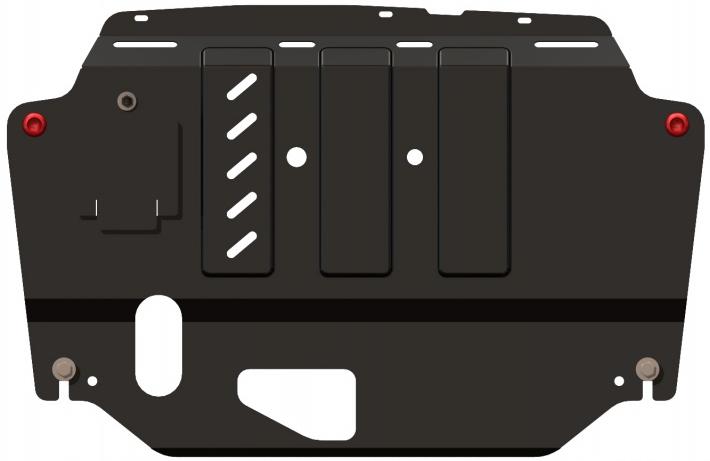 Защита двигателя и КПП для Infiniti (Инфинити) QX70 2013+