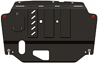 Захист двигуна Kia K5 2010-2015 V-всі двигун, КПП, радіатор (Кольчуга)