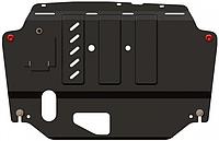 Защита двигателя Mazda 2(DJ) 2015- V-1,5і;  АКПП двигун, КПП (Кольчуга)